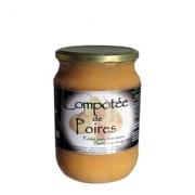 Compotée de poires sans sucres ajoutés 820 g du Mas Daussan (13)