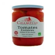 Tomates entières pelées à la main (sans sel) 650 gr (Gard)