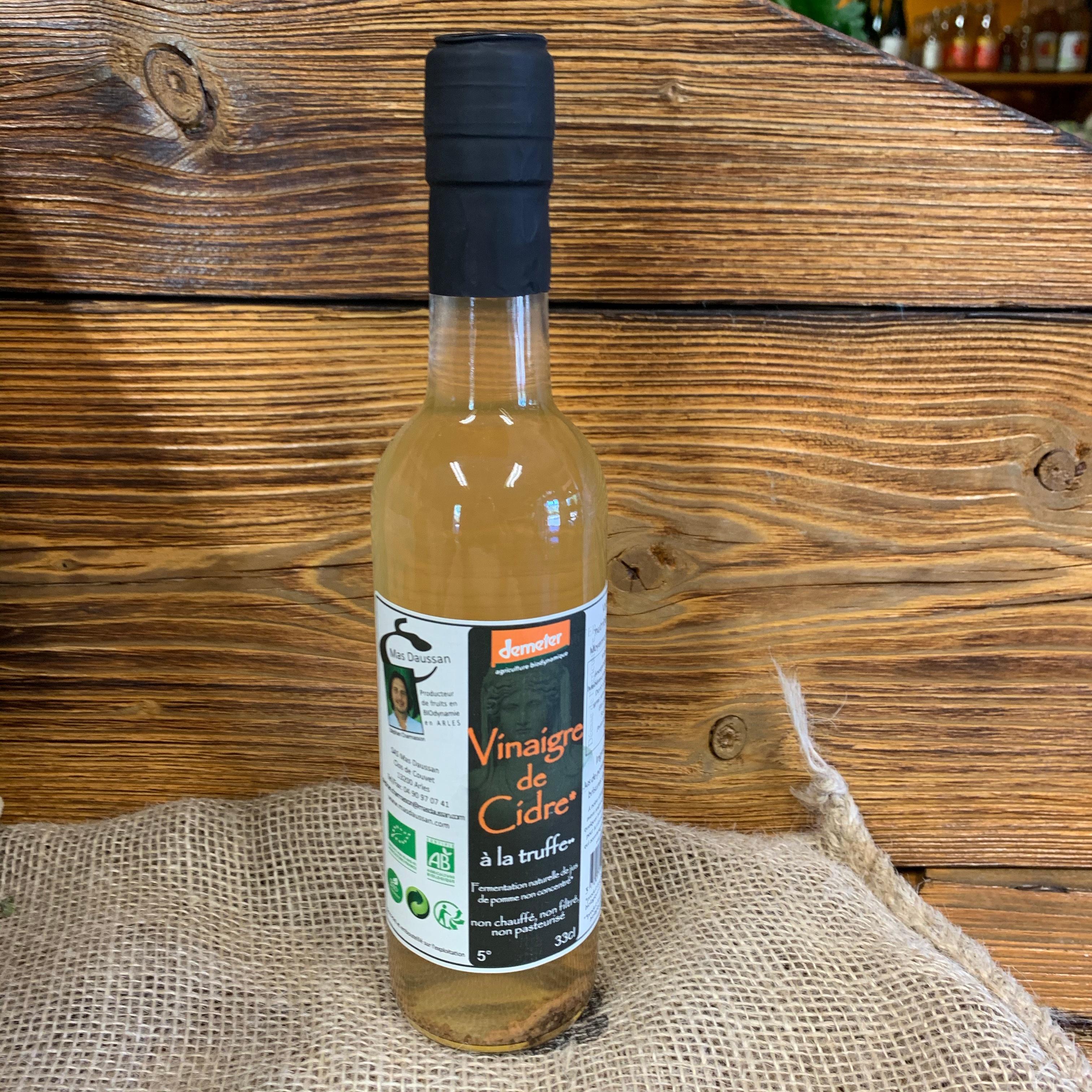 Vinaigre de cidre à la truffe du Mas Daussan 33 cl (13)