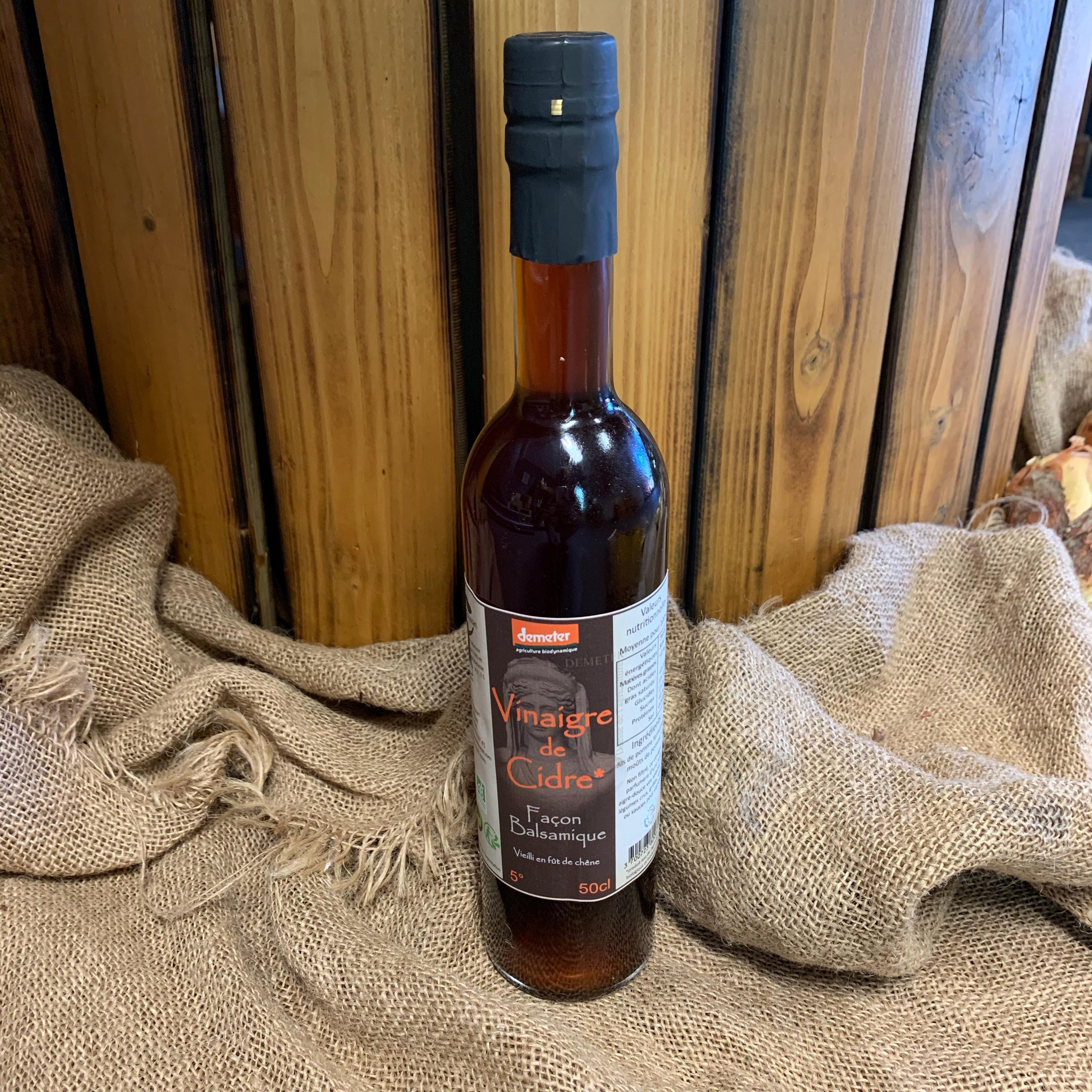 Vinaigre de cidre façon balsamique du Mas Daussan 50 cl (13)
