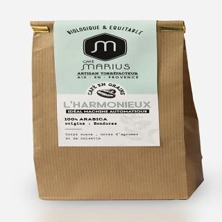 Café en grain l'Harmonieux 500g du café MARIUS