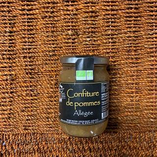 Confiture de pommes Allégée du Mas Daussan 300g (Arles 13)