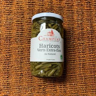 Haricots verts extra-fins au naturel 345 gr (Gard)