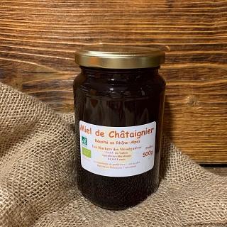 Miel de Châtaignier 500g - Les ruchers des Mességuières (Lauris 84)