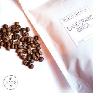 Café grand cru grain Brésil 125g