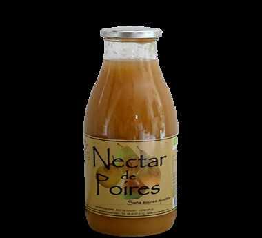 Nectar de poires sans sucres ajoutés 75cl du Mas Daussan (Arles 13)
