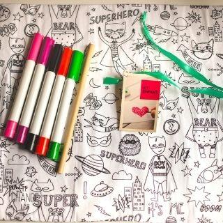 Set de table enfant à colorier