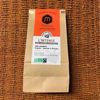Café en grain l'Intense 500g du café MARIUS