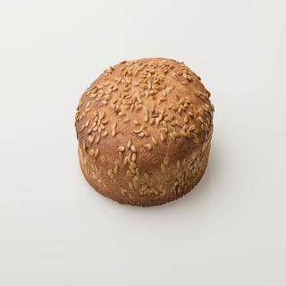 Pain moelleux (burger) pois chiche (lot de 2) 200g de Kom&Sal (84)