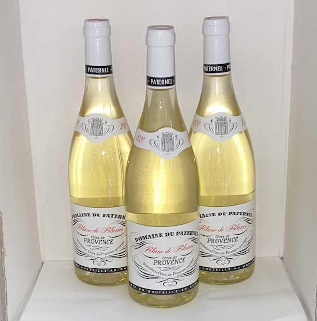 Domaine du Paternel Côtes de Provence blanc 2020 75cl