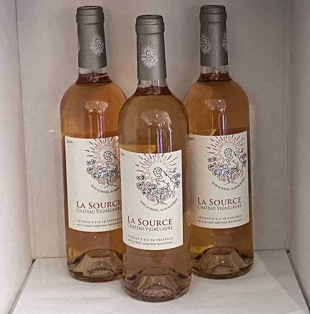 Château Vignelaure Coteaux-d'aix-en-provence La Source Rosé 75cl