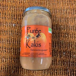 Purée de Kakis du Mas Daussan 820g (Arles 13)