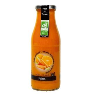 Soupe GINGER Carotte, Orange et Gingembre des Cocottes de Clarisse (Ventabren 13) 50 cl