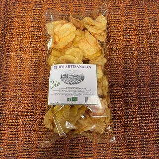 Chips Artisanales de Pommes de terre de Barthelemy Suarez (Berre 13) 125g