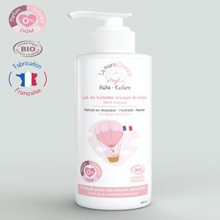 Lait de toilette visage et corps Bébé 500ml - La MarcOnnête (Rousset 13)