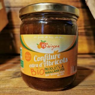 Confiture d'abricots de la Pedrigone 400 g (13)