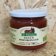 Sauce Poivronade 200 gr (Gard)