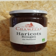 Haricots rouges au naturel 520 gr (Gard)