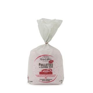 Paillettes de Savon pur Rose de grasse pour linge 750g (Salon de Provence 13)