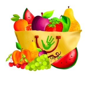 Grand panier fruits