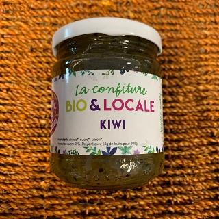 Confiture Kiwi de la Ferme de Cabrières (Lambesc 13)