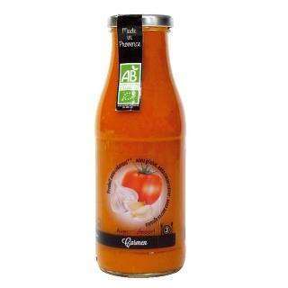 Soupe CARMEN Tomate à l'espagnole des Cocottes de Clarisse (Ventabren 13) 50 cl