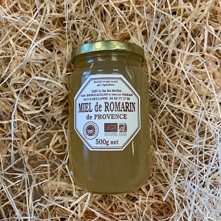 Miel de Romarin IGP 500g - Le Jas des Abeilles (REILLANNE 04)